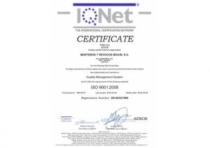 IQNet ISO9001 Bikain